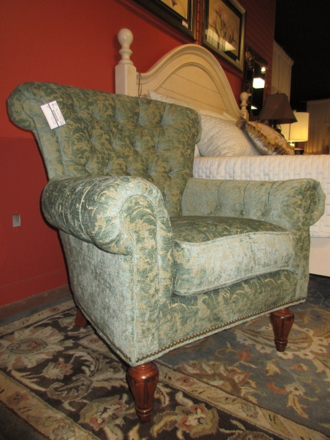 Taylor King Chair W Ottoman At The Missing Piece