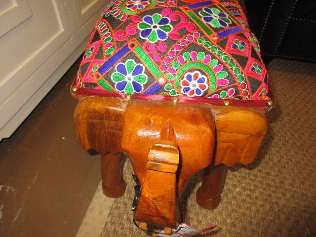 Elephant Foot Stool At The Missing Piece