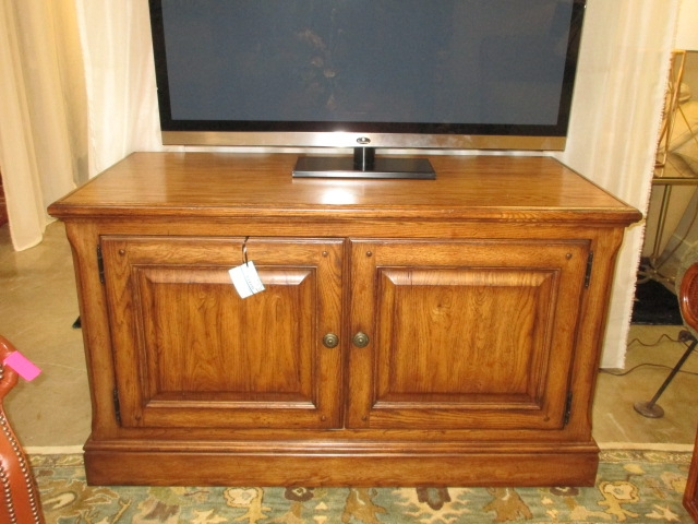 Traditional Media Cabinet At The Missing Piece