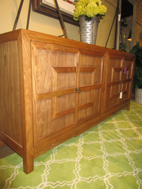 Natural Wood Key Cabinet at The Missing Piece