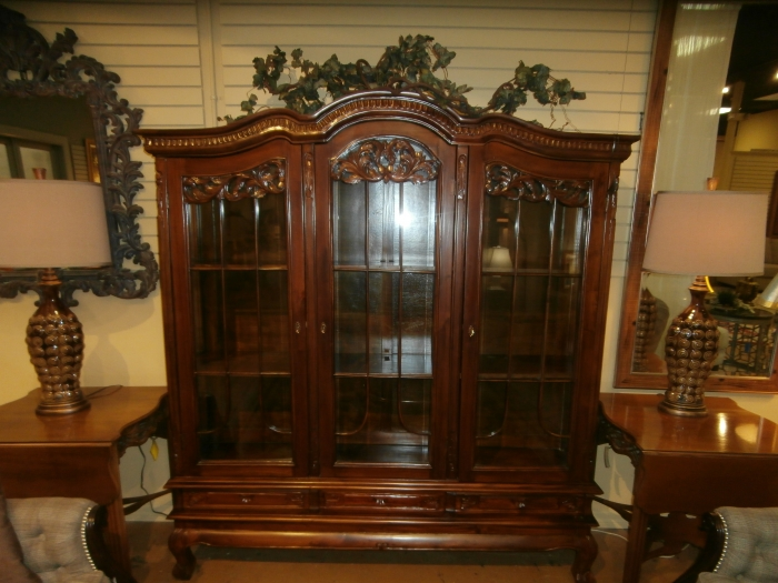 China Cabinet At The Missing Piece