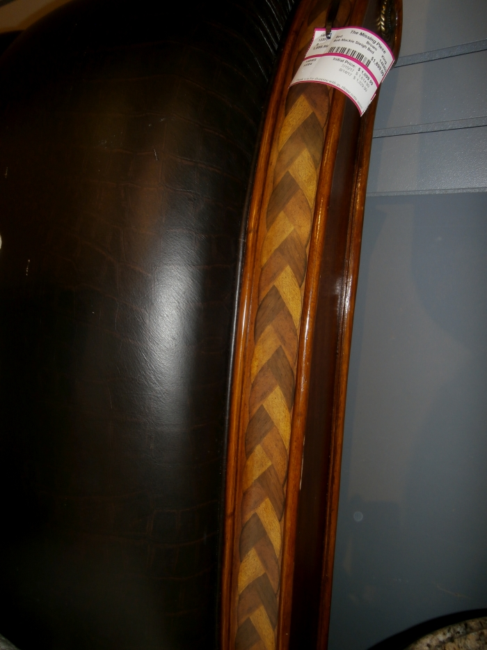 Bob Mackie Sleigh Bed At The Missing Piece