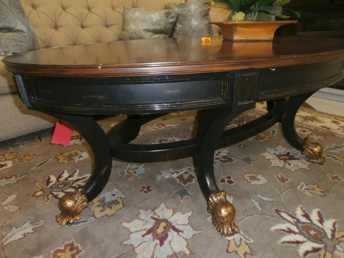 ornate coffee table at the missing piece. Black Bedroom Furniture Sets. Home Design Ideas