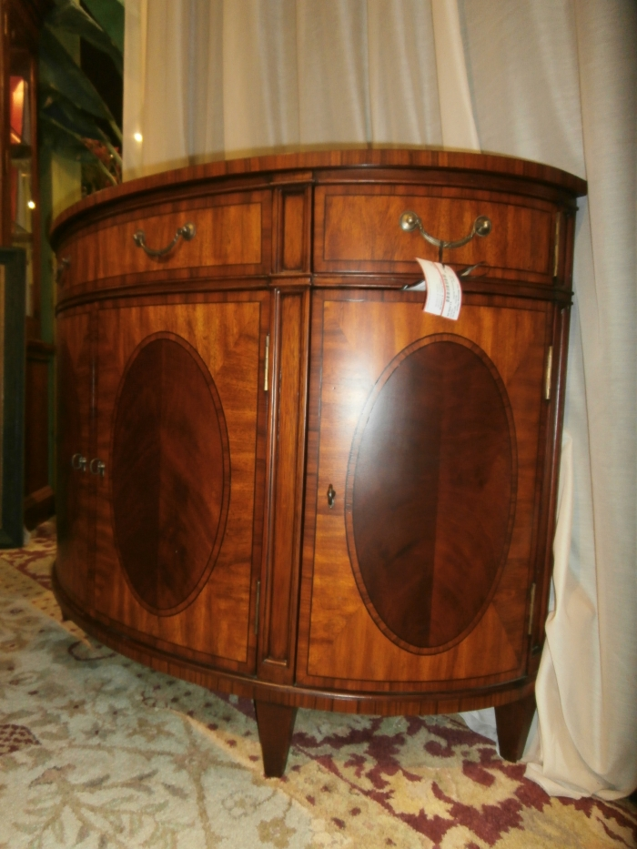 Ethan Allen Demilune Buffet At The Missing Piece