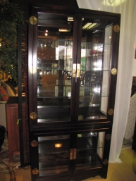 curio cabinet at the missing piece. Black Bedroom Furniture Sets. Home Design Ideas